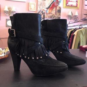 Black Joie Boots